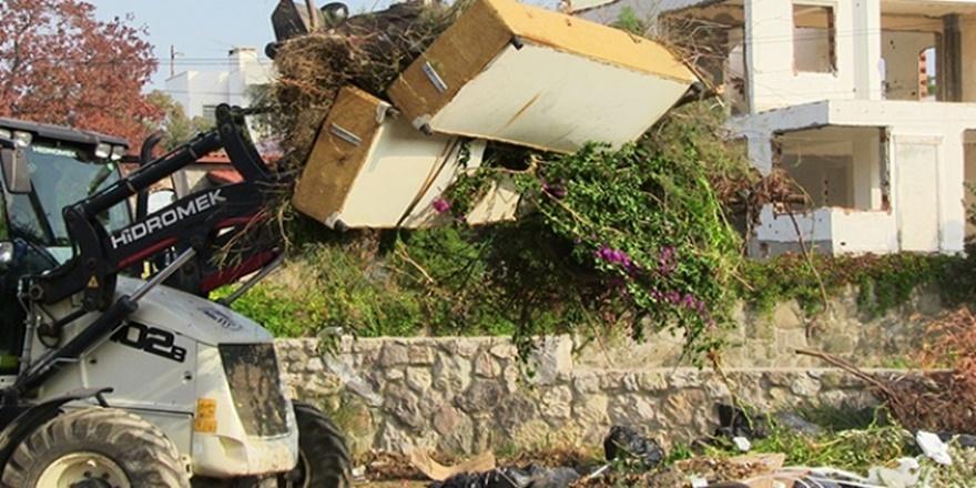 Bodrum'dan 85 ton çöp çıktı!
