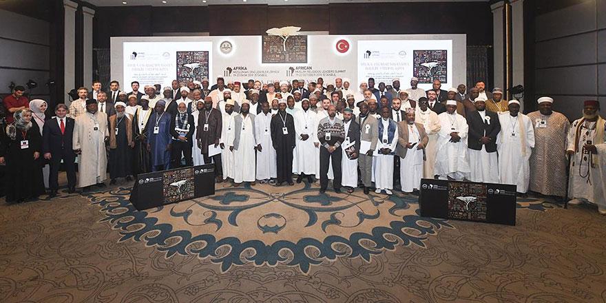 Afrika Müslüman Dini Liderler İstanbul'da toplandı: Sonuç bildirisinde yer alan ayet