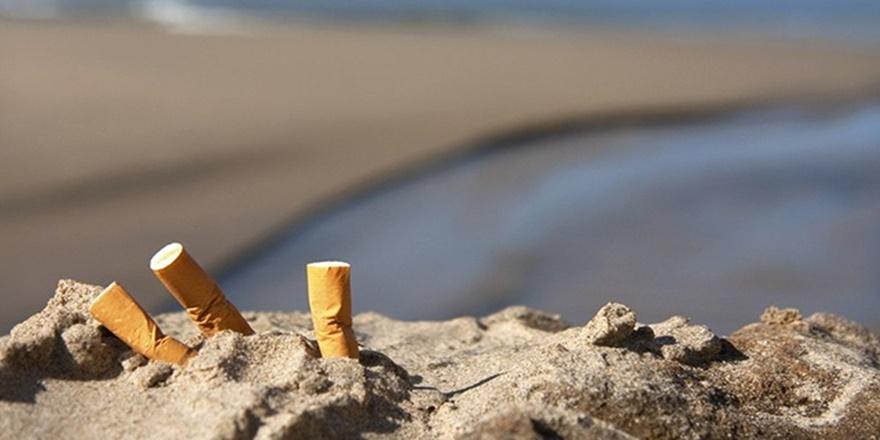 Sigaraya denizde de izin yok