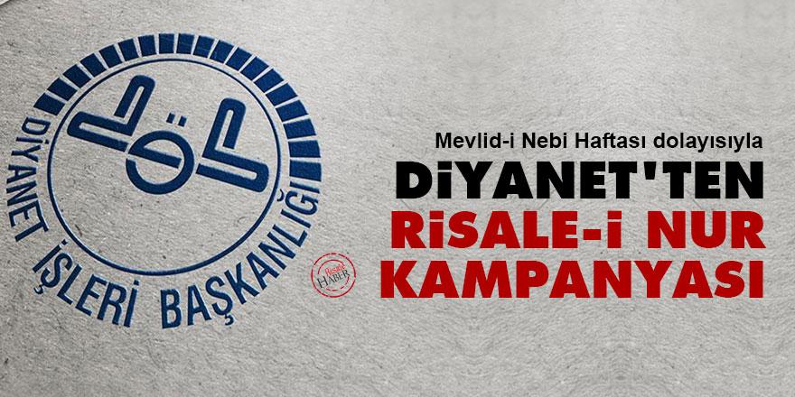 Diyanet'ten Risale-i Nur kampanyası