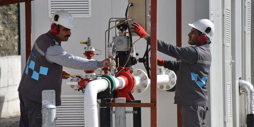 Hakkari'de doğal gaz heyecanı