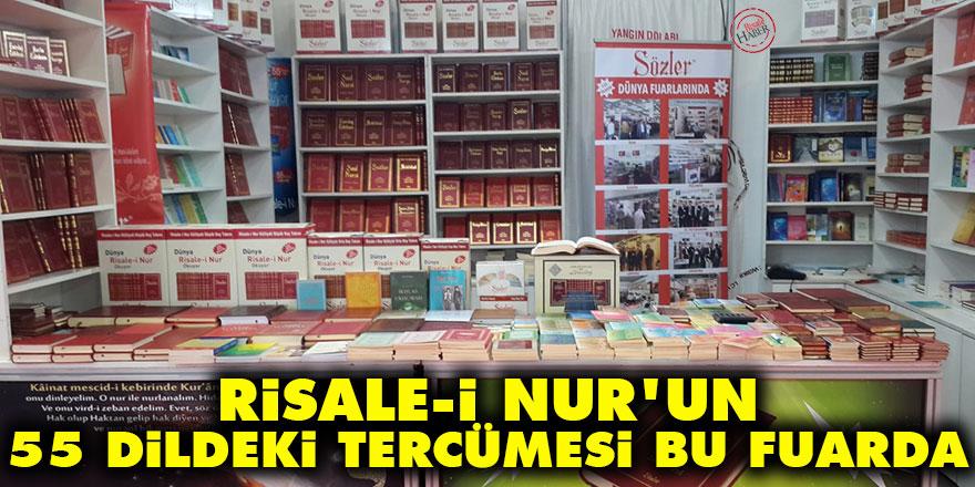 Risale-i Nur'un 55 dildeki tercümesi İstanbul kitap fuarında