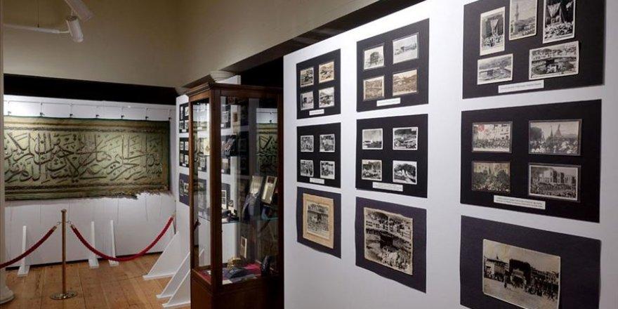 'Kabe Örtüleri ve Kabe Yolunda Hatıralar' sergisi açıldı