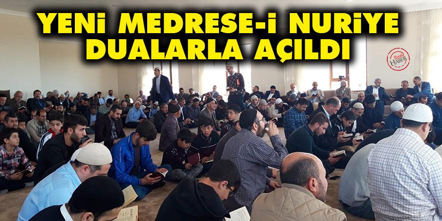 Van Erciş'te yeni Medrese-i Nuriye dualarla açıldı