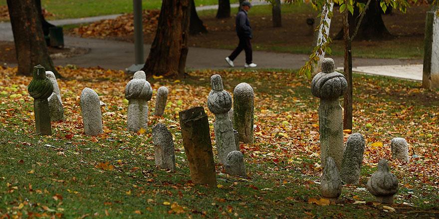 Saraybosna'nın en büyük Osmanlı mezarlığı 'park'a dönüştü!