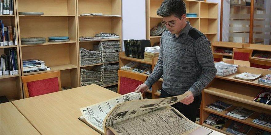 Tarihin 'arşivlendiği' merkezde 50 bin dijital belge saklanıyor