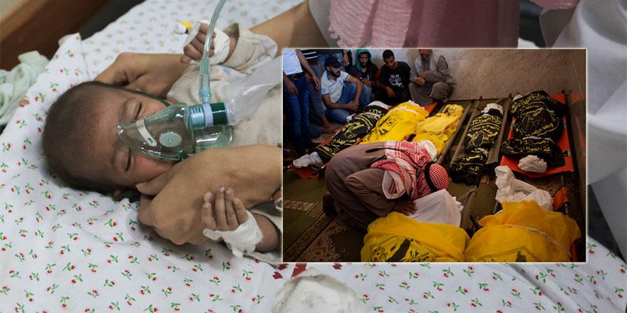 İsrail'in yok ettiği 9 kişilik aileden geriye 35 günlük bebek kaldı