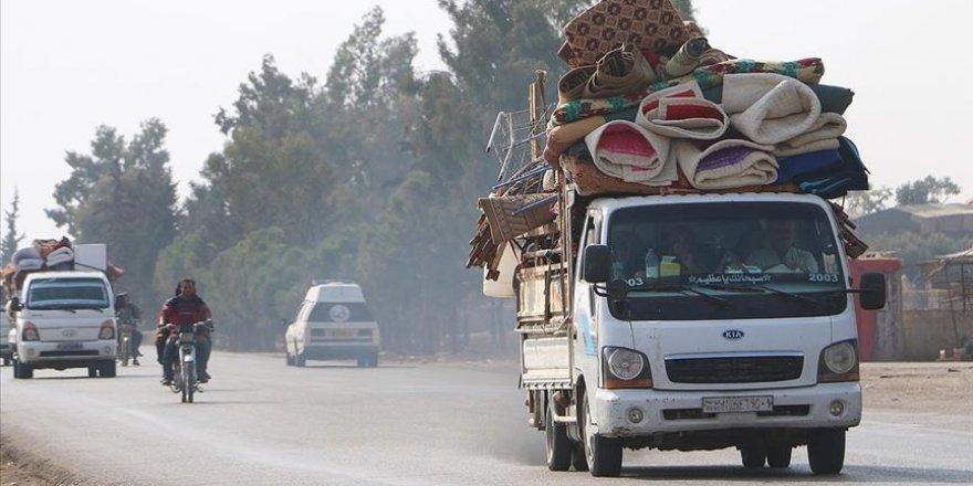İdlib'de son 2 haftada 40 bin sivil yerinden edildi