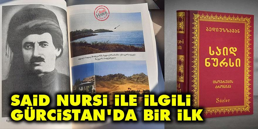 Said Nursi ile ilgili Gürcistan'da bir ilk