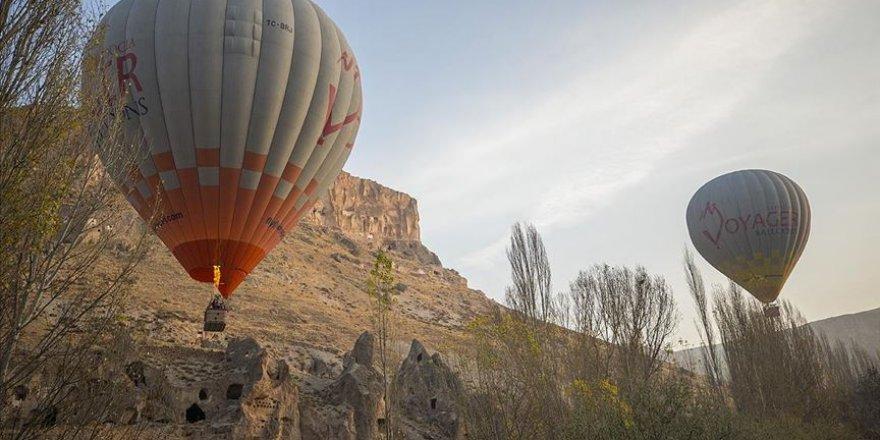 'Kayseri'nin Kapadokyası'nda ilk balon heyecanı