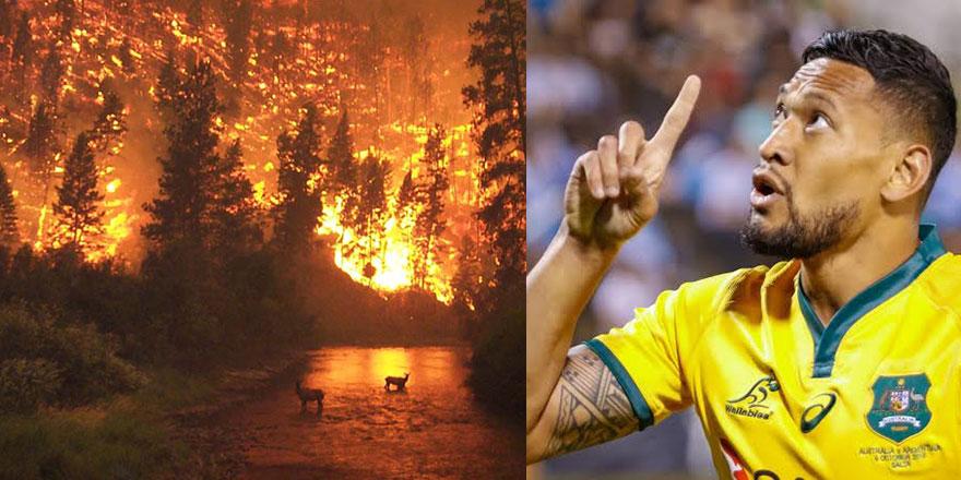 Avustralyalı ünlü sporcu: Orman yangınlarının nedeni sapıklık!