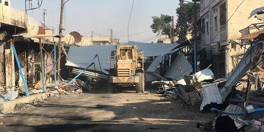 Rasulayn ve Tel Abyad'da temizlik çalışmaları sürüyor