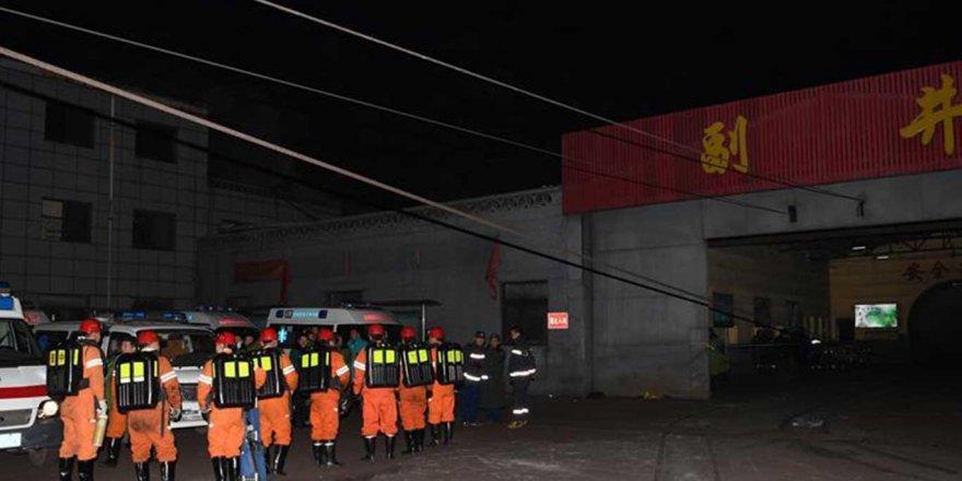 Çin'de kömür madeni patlaması: 15 ölü