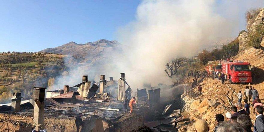 6 ev cayır cayır yandı