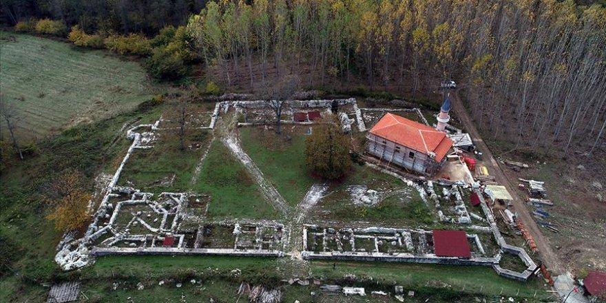 'Fetih topları'nın dökümhanesindeki tarihi cami ayağa kaldırıldı