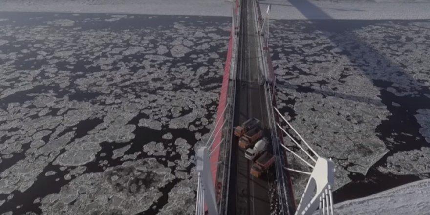 Rusya ile Çin'i birleştiren ilk otoyol köprüsünün inşası tamamlandı