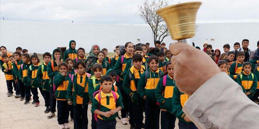 Türkiye'nin onardığı Tel Abyad'daki okul eğitime açıldı