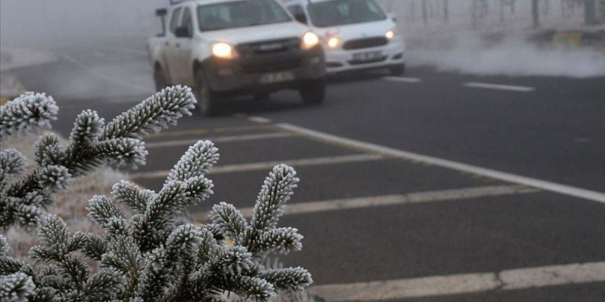Meteorolojiden buzlanma uyarısı