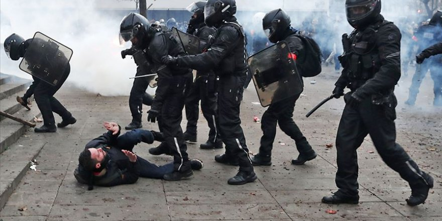 AB Fransız polisinin şiddetini kınamaktan kaçındı