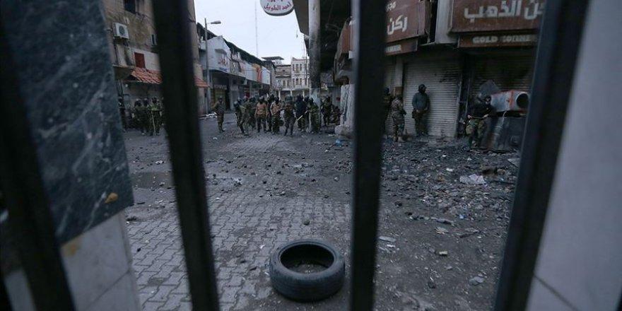 Bağdat'ta göstericilere açılan ateş sonucu 25 kişi öldü