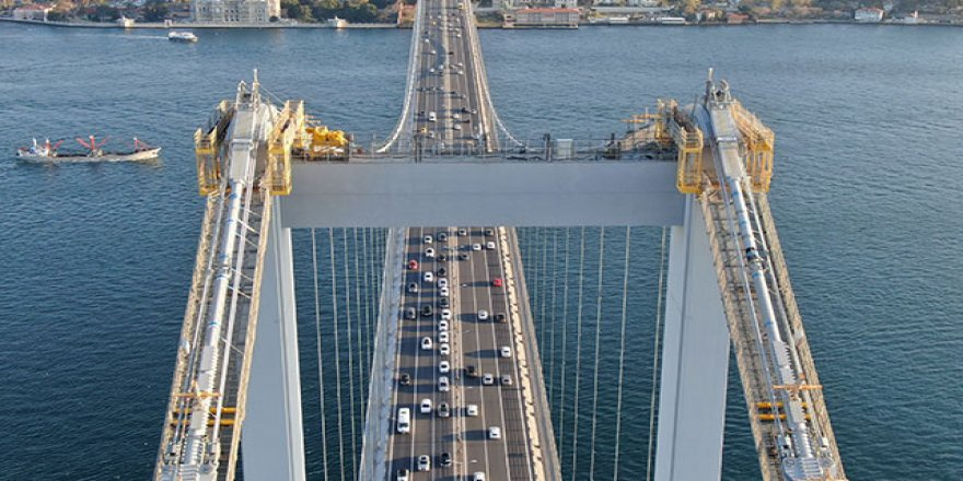 46 yıllık köprüde ''24 saat'' bakım ve kontroller