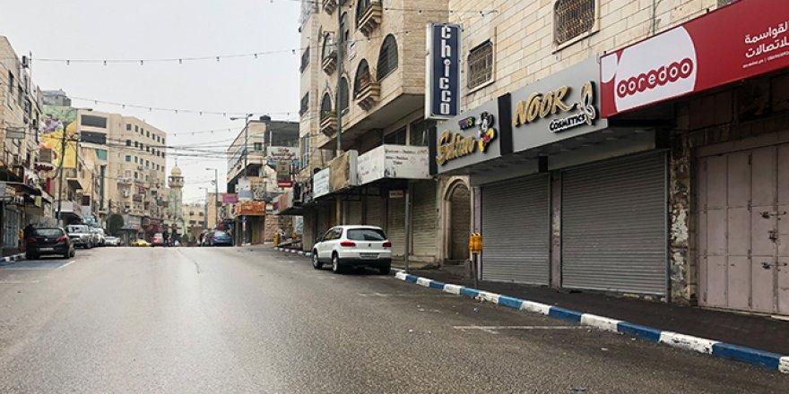 El-Halil'de İsrail'in kentteki yeni yerleşim planı protesto ediliyor