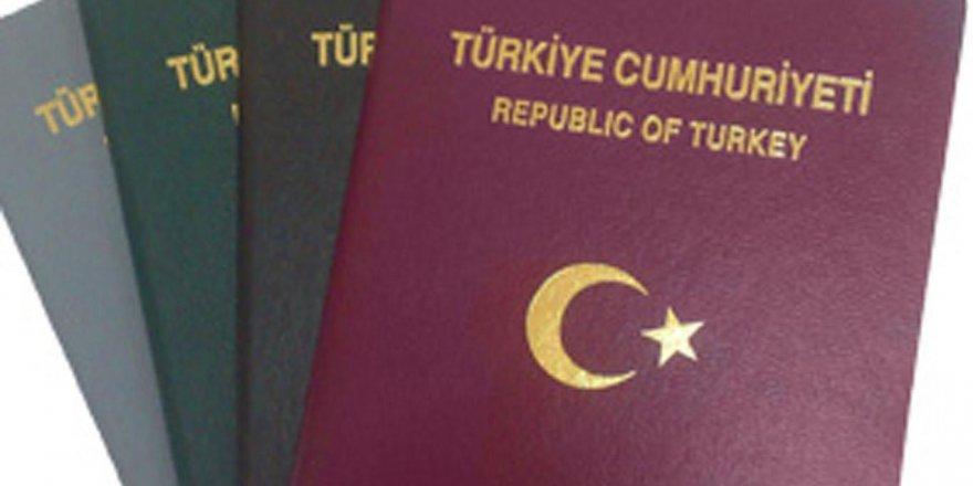 Vizesiz seyahatlerde yeşil ve gri pasaportlara sınırlama