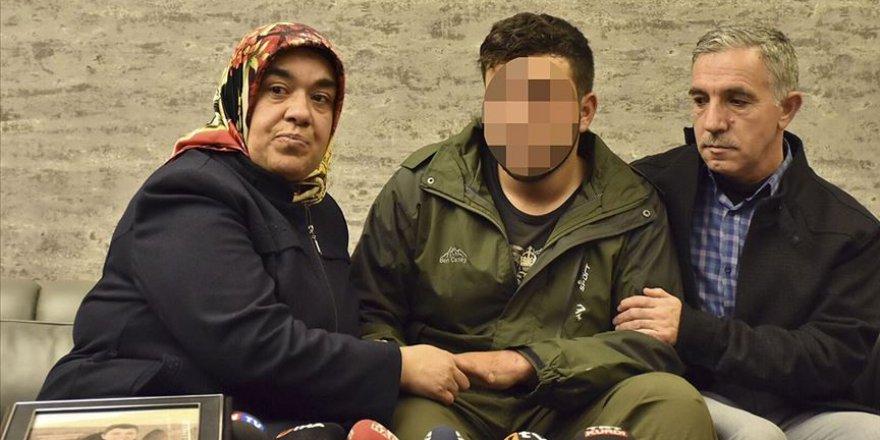 Hatice anne 4 yıllık hasretin ardından oğlu ile kucaklaştı