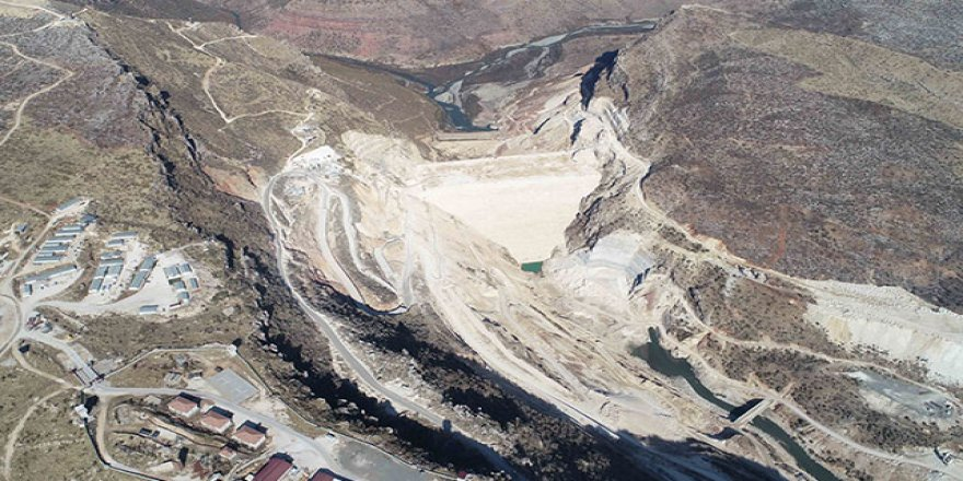 Silvan Barajı 2021'de su tutmaya hazır hale gelecek