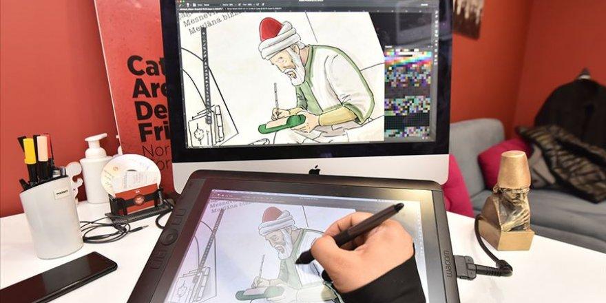 Mevlana'nın hayatı çizgi film ile anlatılıyor