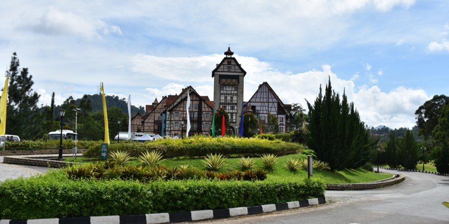 Malezya'da bir Fransız köyü: Colmar Tropicale