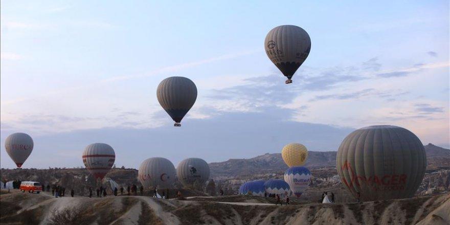 Kapadokya, turizmde yılı rekorla kapatacak