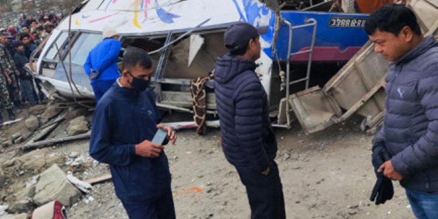 Nepal'de kaza: 14 ölü