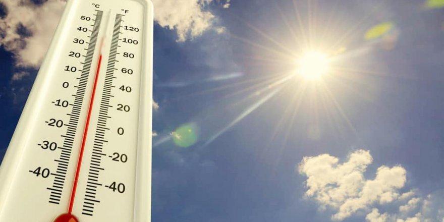 Doğu'da sıcaklıklar artmaya devam ediyor