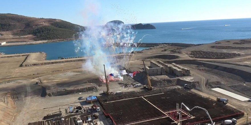 Akkuyu nükleer santralinin ikinci blok inşaatı 2020'de