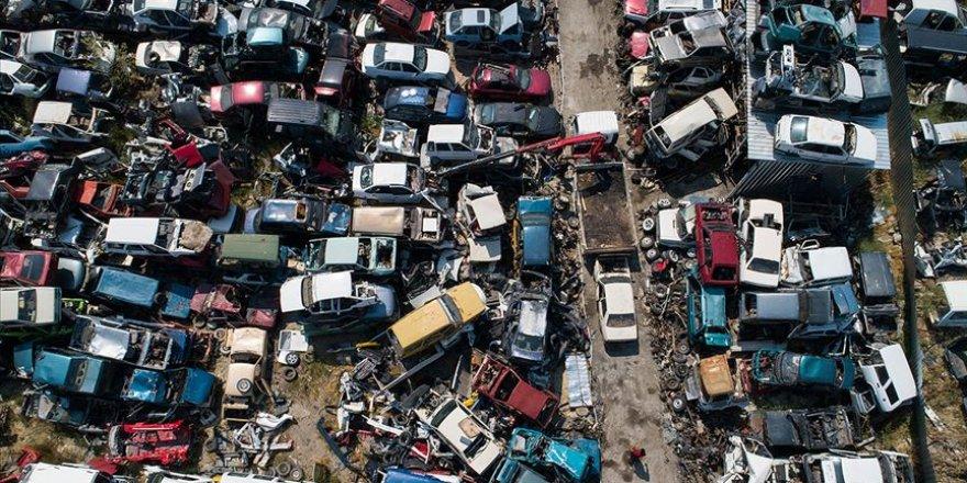 400 binden fazla hurda araç trafikten silindi