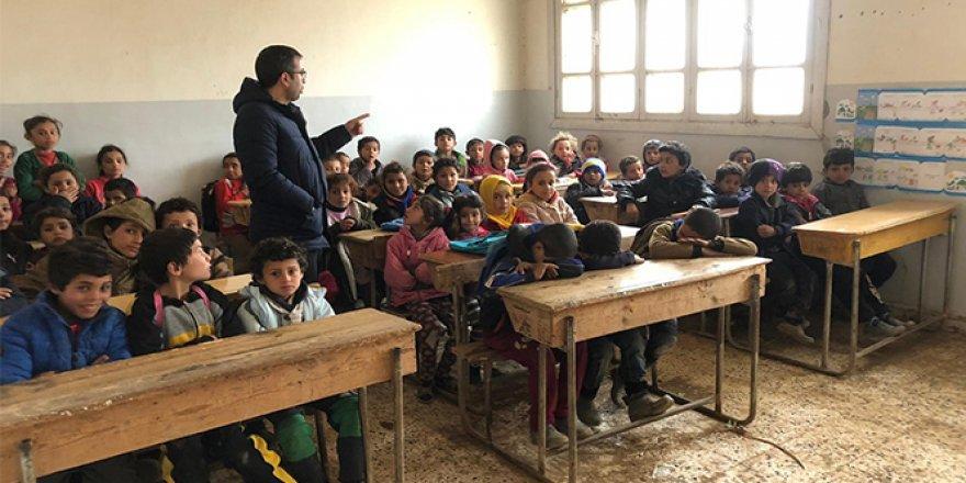 Barış Pınarı Harekatı ile Tel Abyad ve Resulaynlı 20 bin öğrenci okula başladı