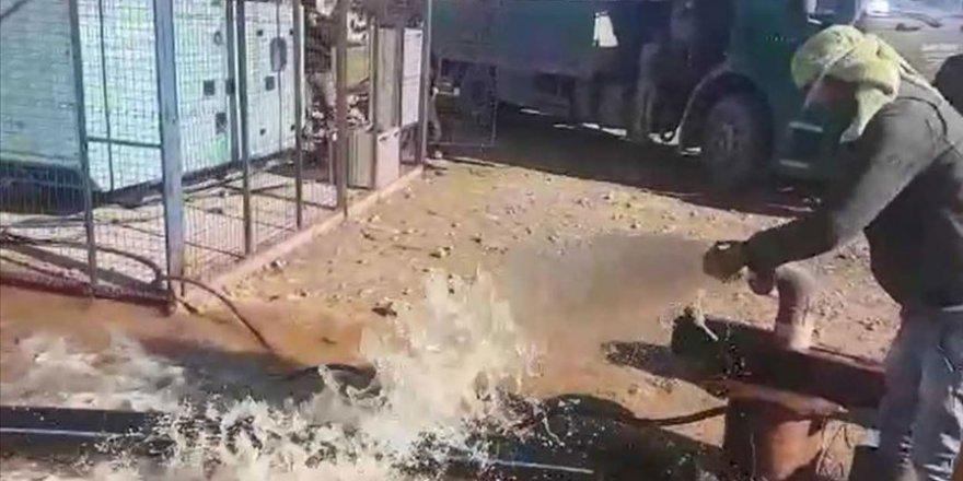 Türkiye'nin desteğiyle Tel Abyad'daki su kuyuları yeniden kullanılır hale getirildi