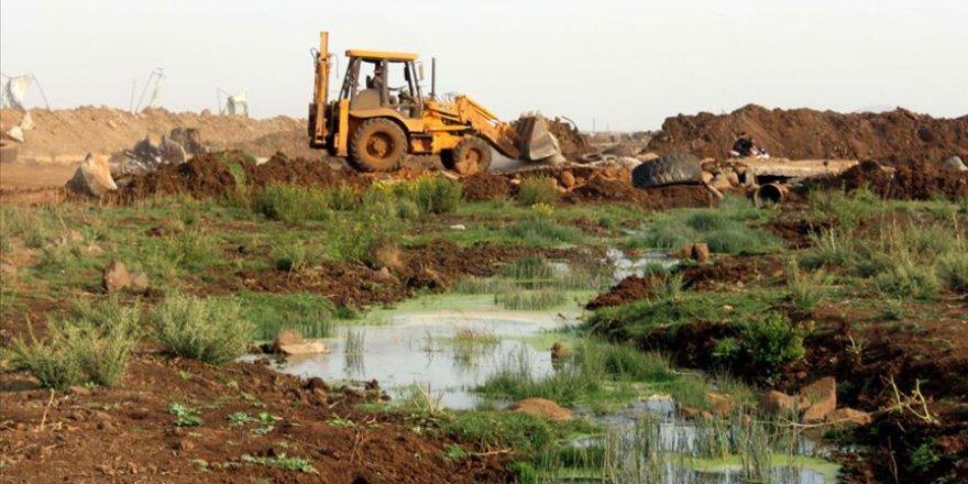 İsrail iki haftada üçüncü kez Gazze'deki tarım arazilerini sular altında bıraktı