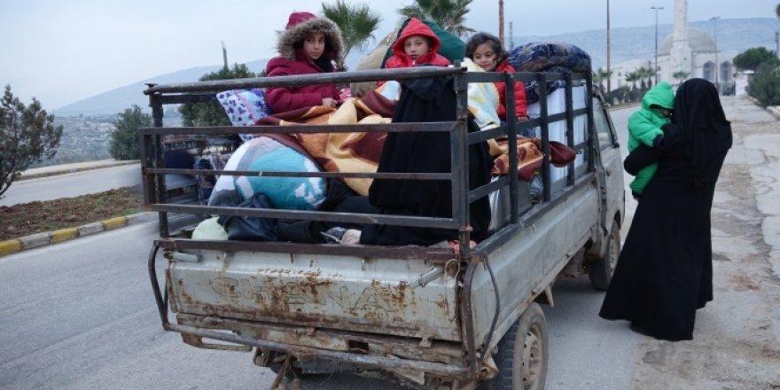 Halep'ten yoğun göç dalgası