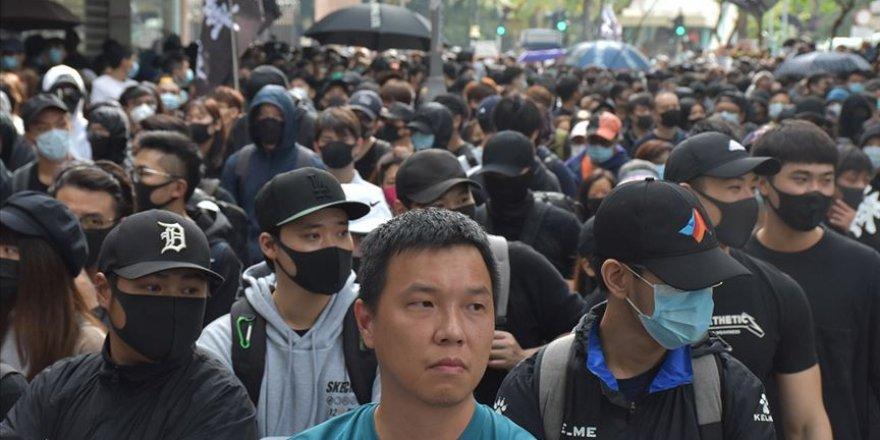 Hong Kong'da seçim reformu protestosu