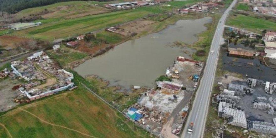 İstanbul'da 2 milyona satılık göl