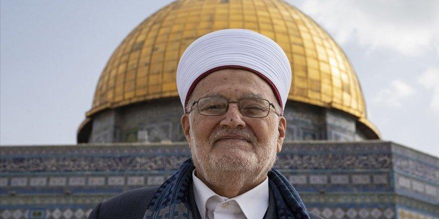 """İsrail parlamentosundaki Arap vekillerden Şeyh Sabri'nin """"Aksa'dan uzaklaştırılmasına' tepki"""