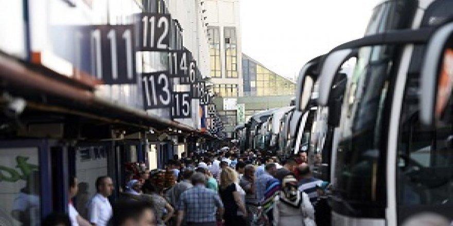 Kara yoluyla geçen yıl 90,2 milyon yolcu taşındı