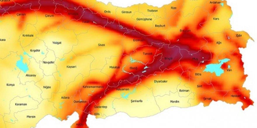 Doğu Anadolu Fay Hattı nerelerden geçiyor?