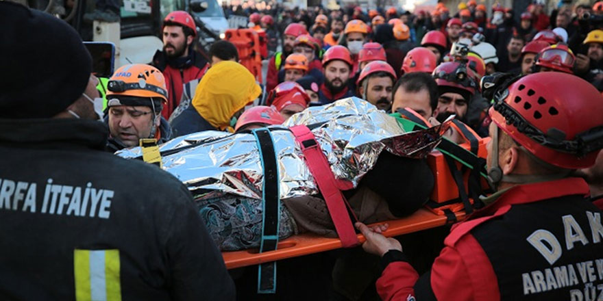UMKE gönüllüsü Emine Kuştepe: Çok şükür hepsi sağlıklı kurtarıldı