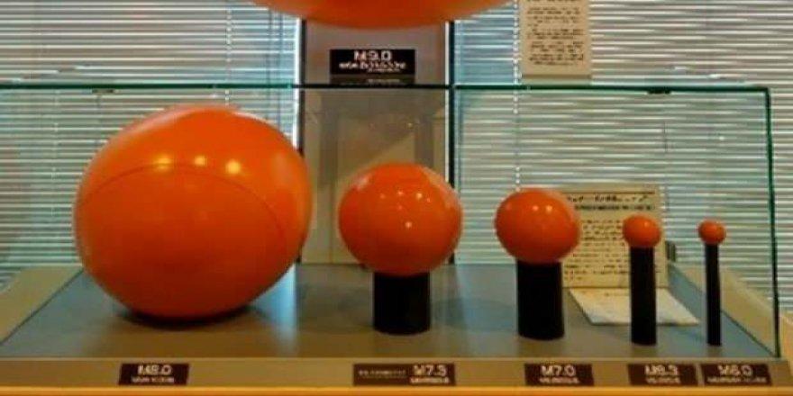 Japonlar balonlarla anlattı: Deprem şiddeti ne kadar fark ediyor?