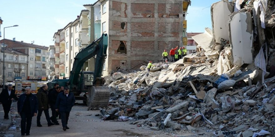 Elazığ'da 788 artçı deprem meydana geldi