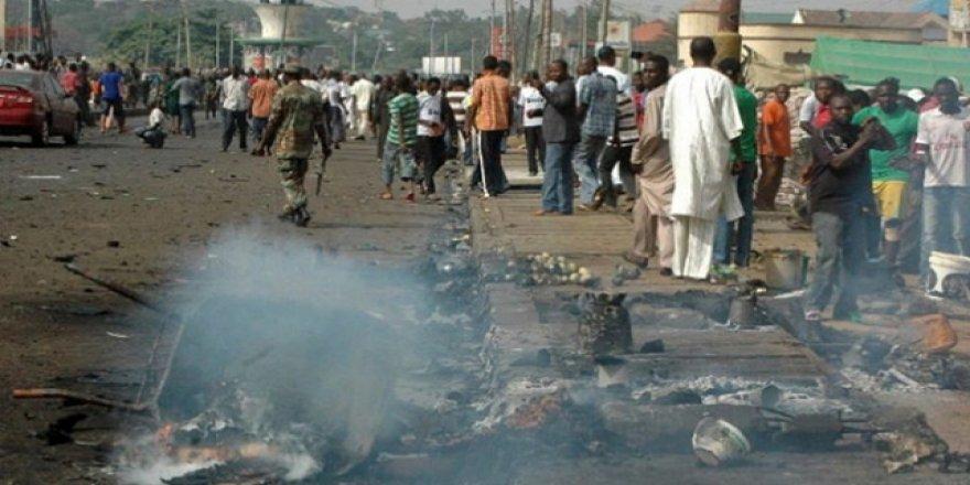 Nijerya'da camiye çifte intihar saldırısı düzenlendi
