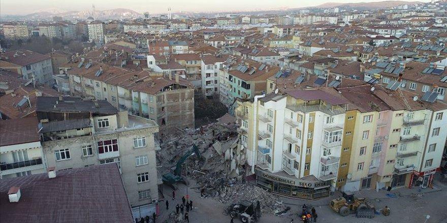 'Deprem bölgesinde' yağış etkili olacak